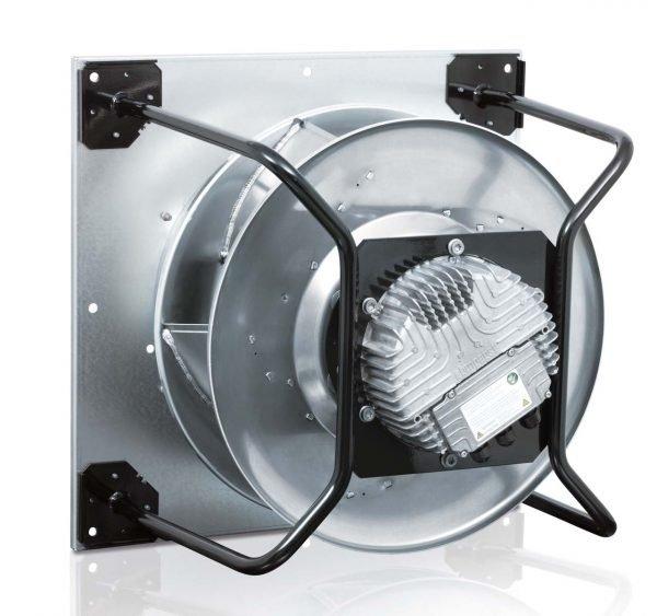 Backward Curve ebm-papst EC Plug Fan Assemblies